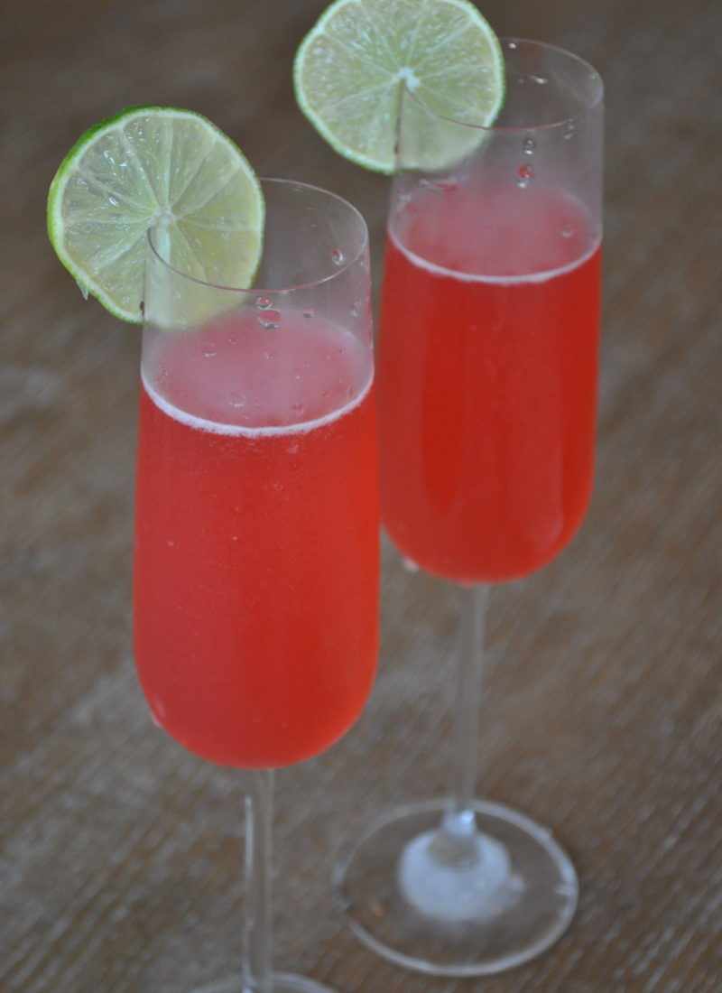 Cherry Lime Spritzer