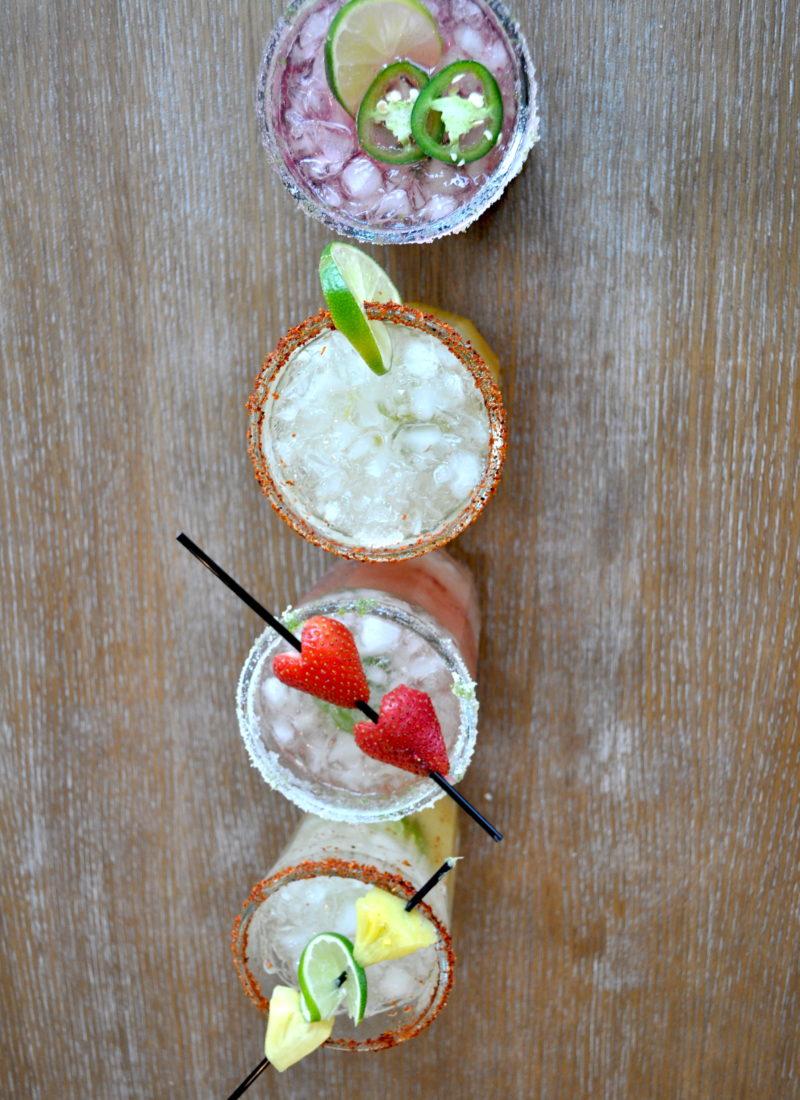 Sparkling Jam Margaritas